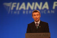 Ard Fheis 2009 - Breandán Fitzgerald Speaking on motion to enable families avail of the Family Income Supplement